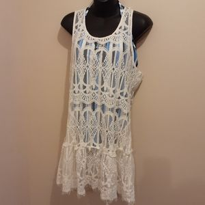3 for $25 NWT Solitaire Swim Cover-up Size Large